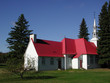 church at mont tremblant, quebec (horizontal)