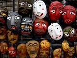 masques coréens poster