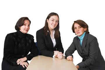 business female management team