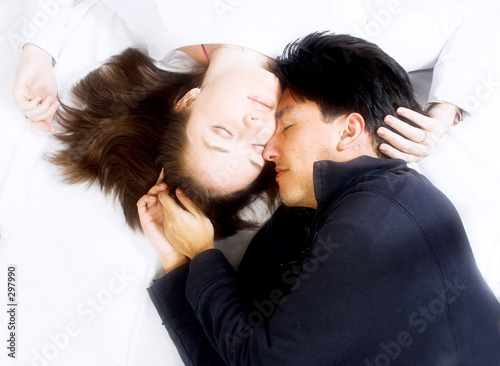 beautiful love - couple in colour