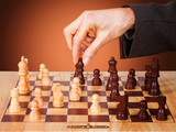 business strategy - chess poster