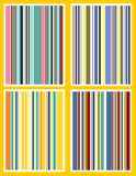 retro stripes poster