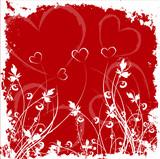 valentines grunge poster