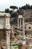 romam forum, rome poster