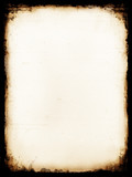 burnt paper poster