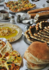 middle-eastern breakfast
