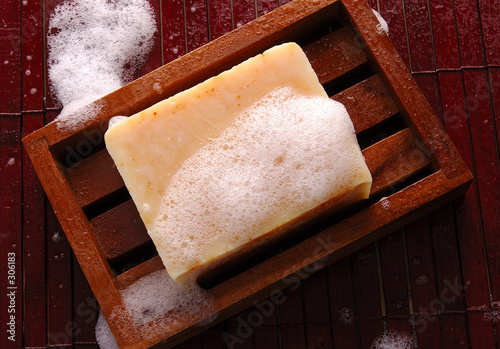 canvas print picture soap
