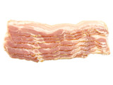 strips of smoked bacon poster