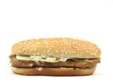 grilled chicken burger poster