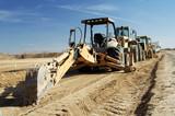 construction equipment poster