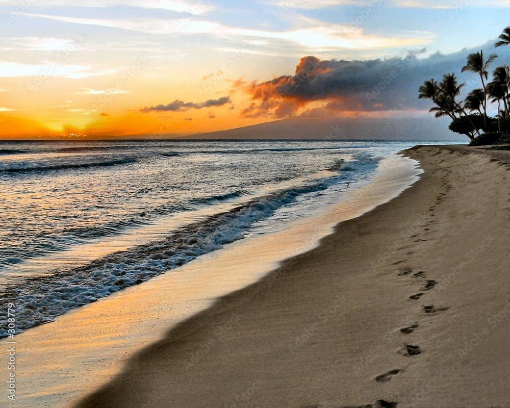 maui piasek plaża - powiększenie