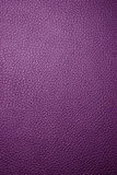 purple leather - macro