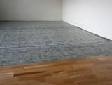 laminated wooden floor poster