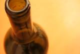 wine bottle rim poster