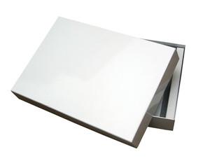 open blank box w/ path