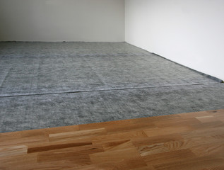 laminated wooden floor