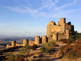 loarre castle in the morning light 1 poster