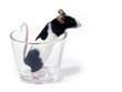 Leinwandbild Motiv mouse in a glass