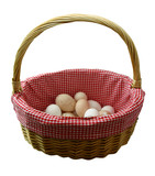 dont put all your eggs in one basket poster