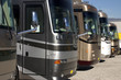 Leinwanddruck Bild - new recreational vehicles