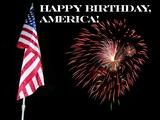 happy birthday america poster