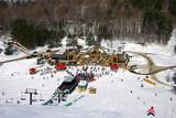ski center poster