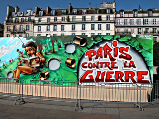 paris contre la guerre