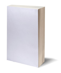 blank white book w/path