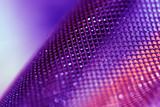 purple mesh poster