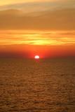 atlantic sunset poster