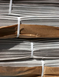 stack of newspapers poster