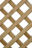 overlapping wooden fence poster