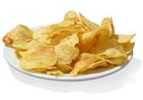 potato chips w/path poster