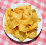plate of chips poster