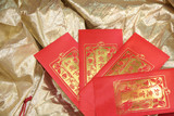 red envelope for chinese lunar new year poster