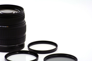 lens and filters