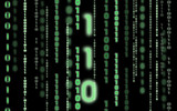 binary code background poster
