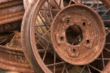rusty wheels poster