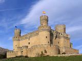 manzanares el real castle 2 poster