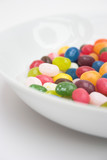 jelly beans in a dish poster