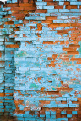 distressed brick wall 2