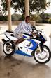 black biker motorcycle african american shades