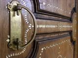 fancy door and handle poster