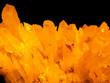 golden crystal rock