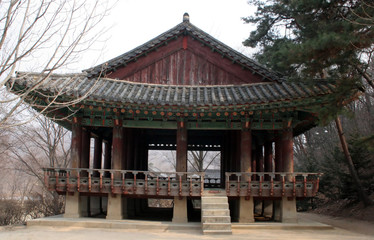 korean building