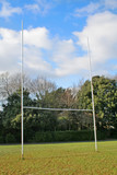 rugby posts poster