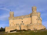 manzanares el real castle 3 poster