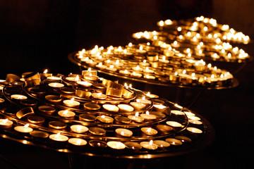 riviere de bougies