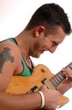 guitar player 1 poster