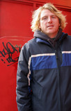 blond man poster